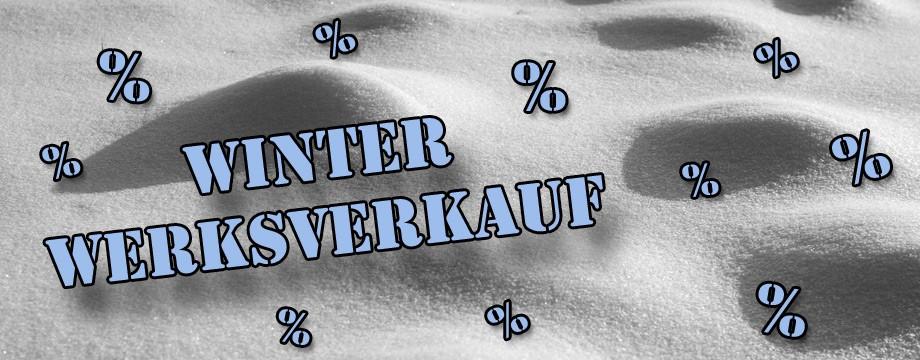 Winter Werksverkauf