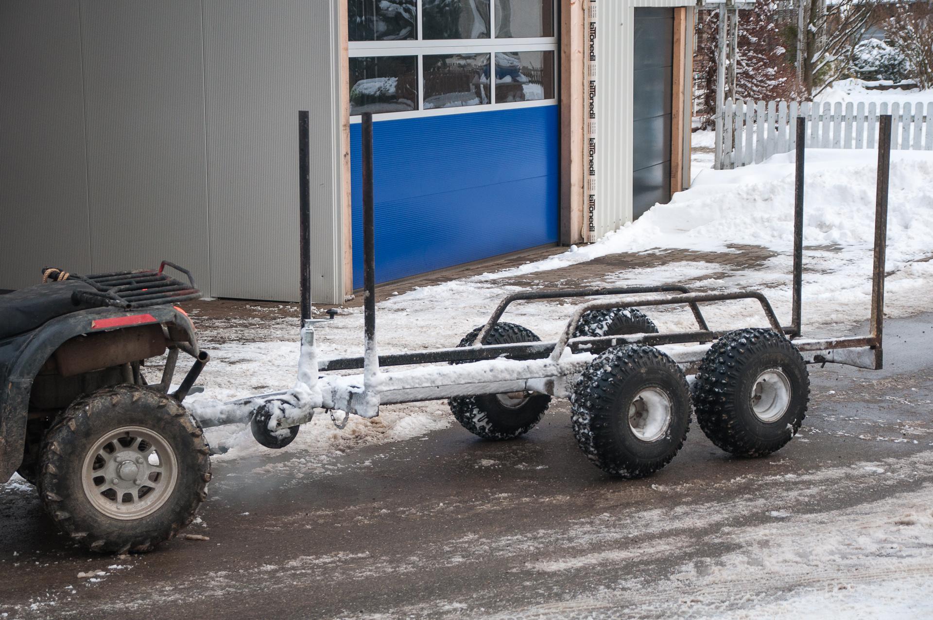 Beliebt Bevorzugt Holzanhänger und Muldenkipper für ATV | Gad net, gibt's net! #ZD_23